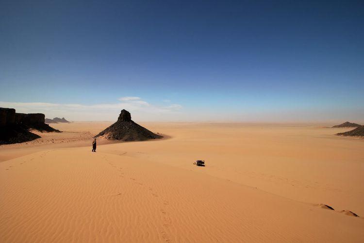 Beauty In Nature Desert Landscape Nature No People Sand Sand Dune Scenics Sky Tranquil Scene Fresh On Market 2018
