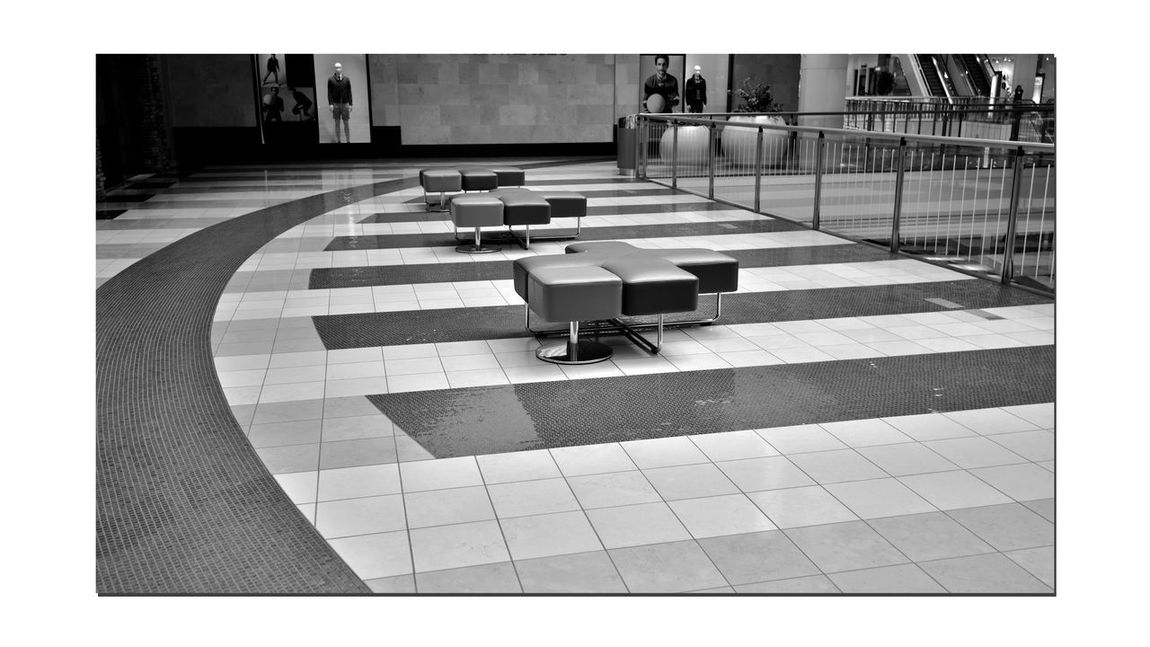 Westfield Centre 1 San Francisco CA🇺🇸 Westfield Centre Upscale Urban Shopping Mall Interior Design Decor Bnw_friday_eyeemchallenge Urban_geometrics Architecture Architectural Detail Floors Seating Handrails Windows Geometric Shapes Pattern Pieces Monochrome_Photography Monochrome Black & White Black & White Photography Black And White Black And White Collection  Westfield Group Forest City Enterprises 180+ Stores 9 Floors