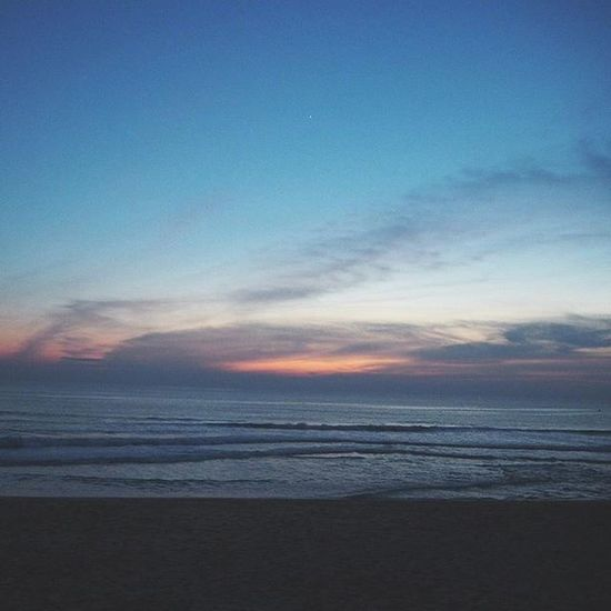 Sea Time . . . Navy Time . . . Ig_masterpiece Igoftheday Phototime Photooftheday Sea Sand Water People Alone Sky Sunset NiceShot Jj_editors Exclusive_shot Phuket Blue Navy