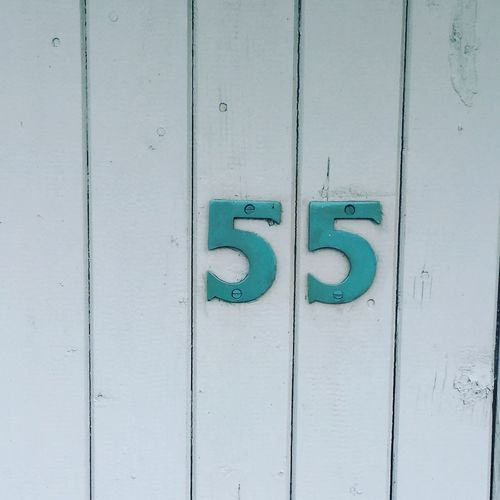 55 Numbers Number Five Fifty Five Doorporn Door Wood - Material Wood Wooden Wooden Door Turquoise Green