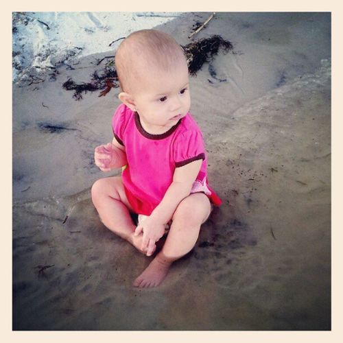 Babylove Beachbaby Beach Summer Supercute Adorable Instaperfect Aww