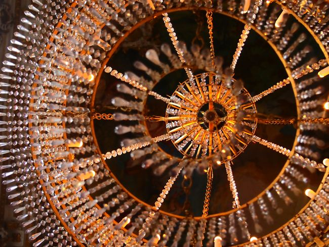 Center Of Light Hanging Chandelier Decoration Round Chandelier Eye Of Light Europe Trip 2015  Crystal Clear Circle Of Light Bronze Color Beautiful Chandelier Lamps And Lights. Elegance Everywhere Glamour Photography Chandelier - Detail Chandelier Light Light And Shadow Random Photography