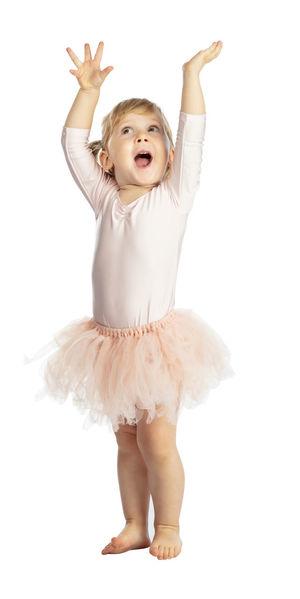 Child Ballerina Dancer Ballet Isolated Tutu Studio Girl Young Performer  Childhood Beautiful Little Classical Cute Dance Pink Elégance Grace Class Dress Classic Kid Pretty White Baby Costume Skirt Caucasian Training Practice Delicate Portrait Sweet Adorable Elegant Innocent Princess