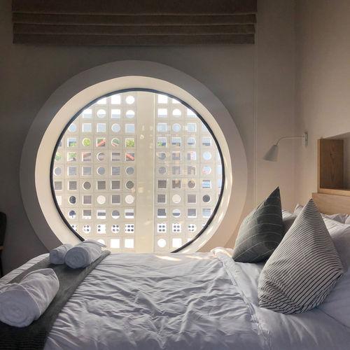 Open window on bed