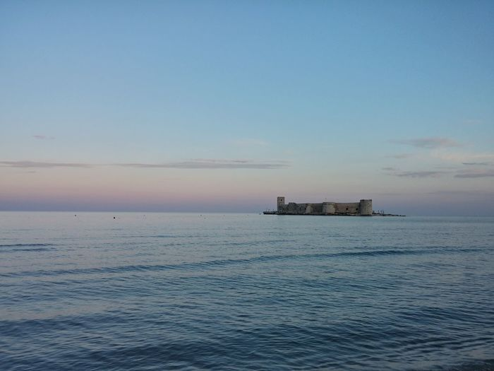 Castle travelling photography Sea And Sky Maiden's Castle at Mersin / Turkey Noedit #nofilter