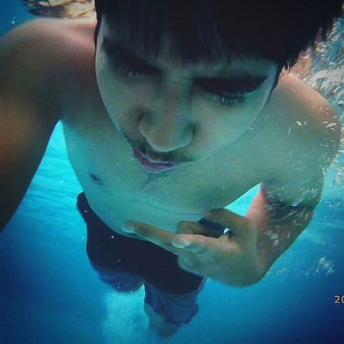 Swimming Swimming Pool Underwater Xiaomiyicamera Firsttime Swimming Check This Out That's Me Hello World Showcase June Home Is Where The Art Is