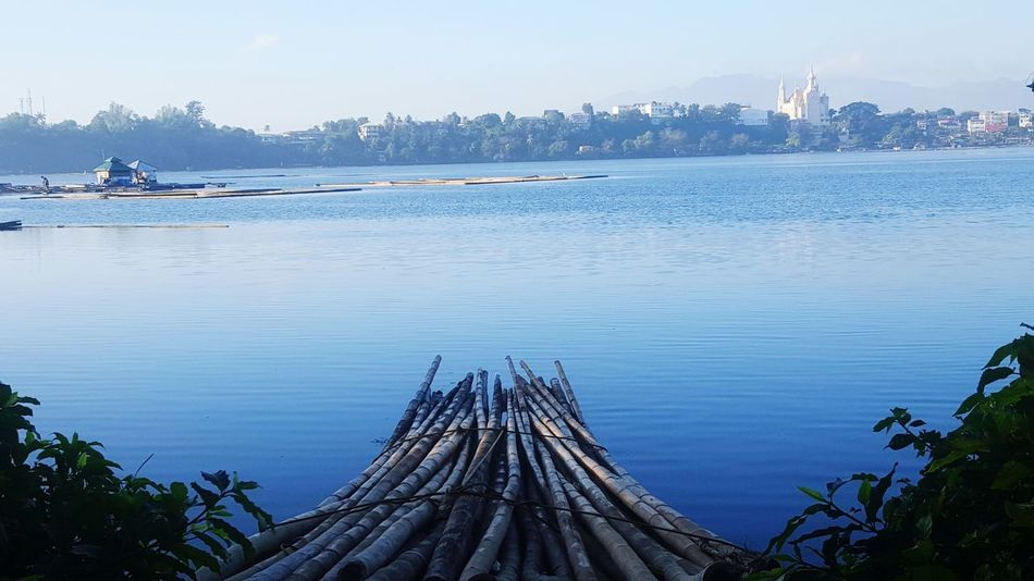 Lake View San Pablo Phillipines Water Scenery Waterscape Breathtaking