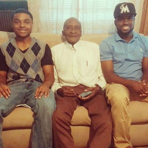 My Big Little bro, Great Grandpa, and I Sportsbuddies