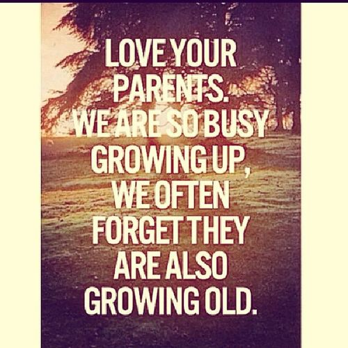 We Tend To Forget sometimes but now and then just remind how much you luv your Parents WereGrowingUpSoFast HaveABlessDay Instagramers
