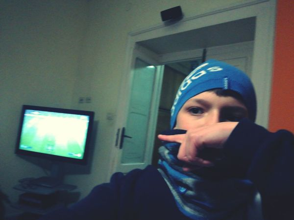 Fifa is my life Surgical Cap Young Adult One Person Looking At Camera