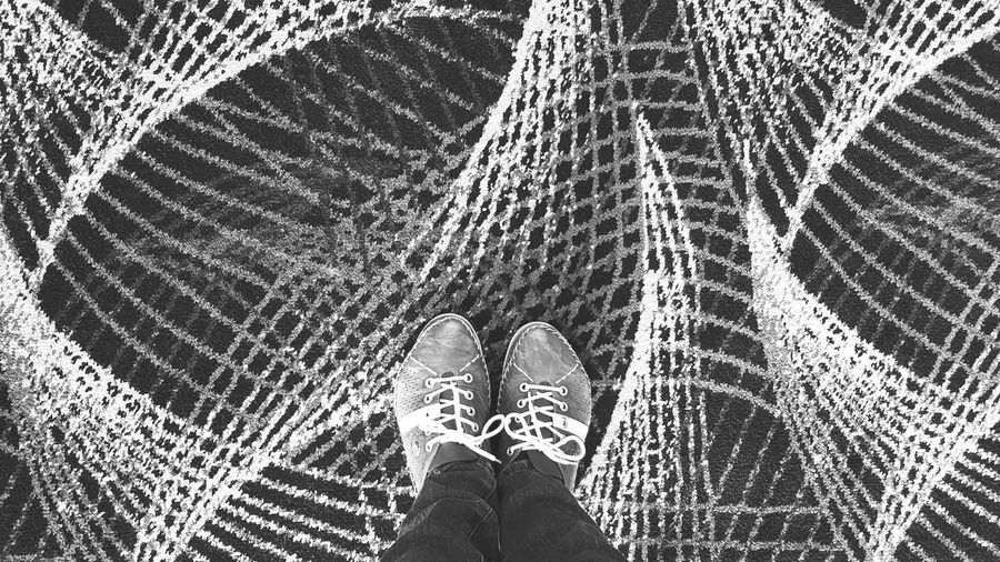 Looking down Feet Exploring Explore Looking Down Pattern, Texture, Shape And Form Pattern Carpet Seemless Shoes EyeEm Selects Blackandwhite Black And White Black & White Blackandwhite Photography Stylish Fashion Accessory Pattern Pattern, Texture, Shape And Form