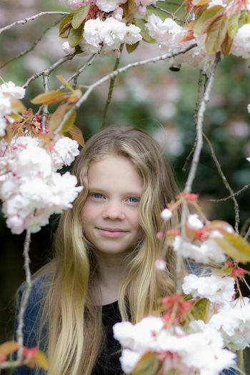 blossom Macey Daughter Girl Streamzoofamily Portrait Flowers Blossom Spring