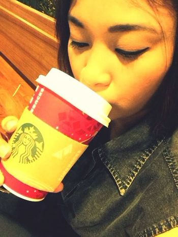 Good morning☁️☁️☕️ Starbucks Tea Time