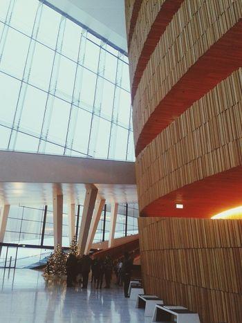 Oslo Opera House Urban Geometry Silhouette Architecture