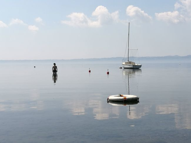 Nautical Vessel Water Reflection Sea Travel Outdoors Transportation Float Sky Astrology Sign Sailboat Sailing Ship Travel Destinations Tranquility Nature Landscape Day Silence No People Be. Ready.
