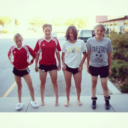 Flash back Friday to when soccer tanlines were sexy. :) Littlegirls Soccer Flashback Tanlines  thunderthighs competive memories youngins love friday instagood summer fun bestoftheday life punks