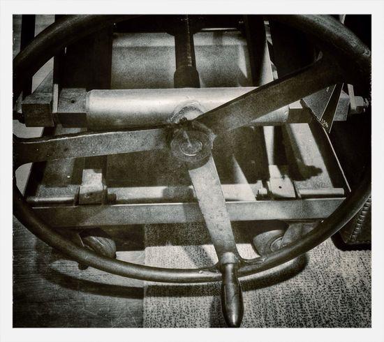 Machinery Blackandwhite
