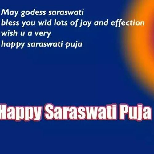 Festival Tradition Culture Blessed  HappySaraswatiPuja