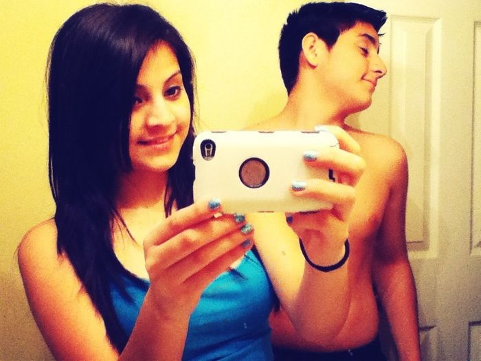 The dumbass and I. (: