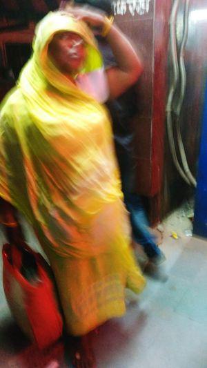 A Traditional Hindi Spoken Woman