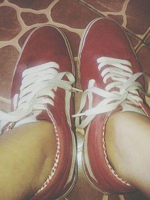 Vans #swag Red say good bye