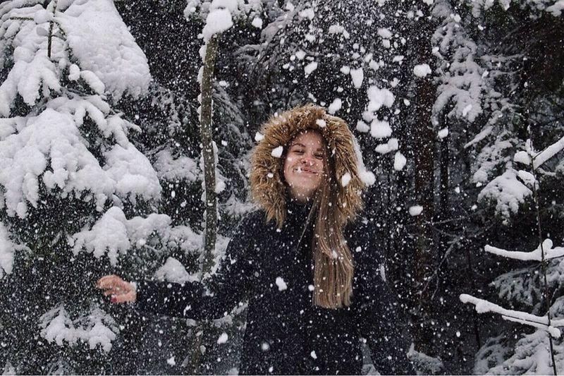 Snowing Playful
