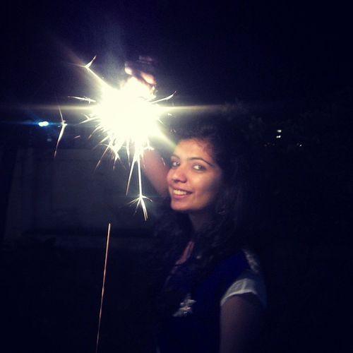 Diwali Throwback Phuljhadi Myfav lightOnFace prettyGlow addsSparkleToSnap