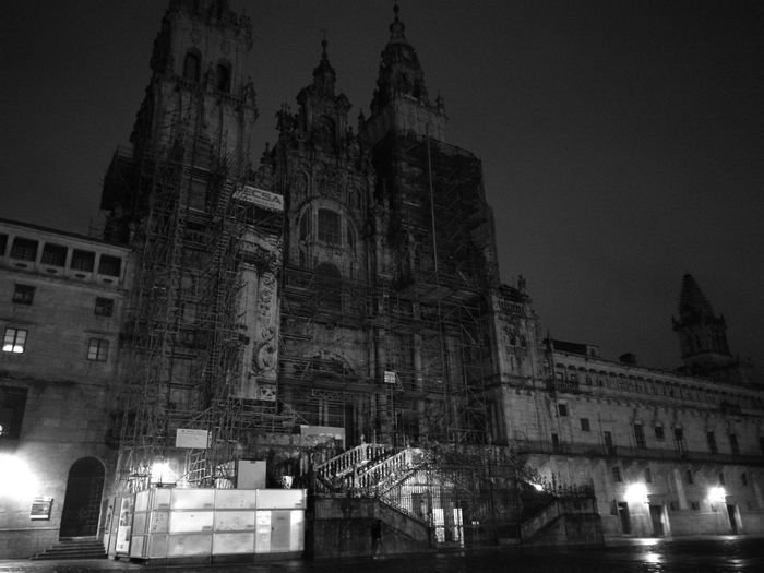 Architecture Camino CaminodeSantiago Monochrome Monochrome Photography Pilgrimage Santiago De Compostela SPAIN
