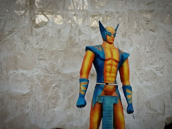 Wolverine Outdoors Xmen Wolverine Amusement Park Superhero EyeEmBestPics Mammal One Man Only Superheroindia Indian Wolverine Chennai Diaries Travel Photography Travelling
