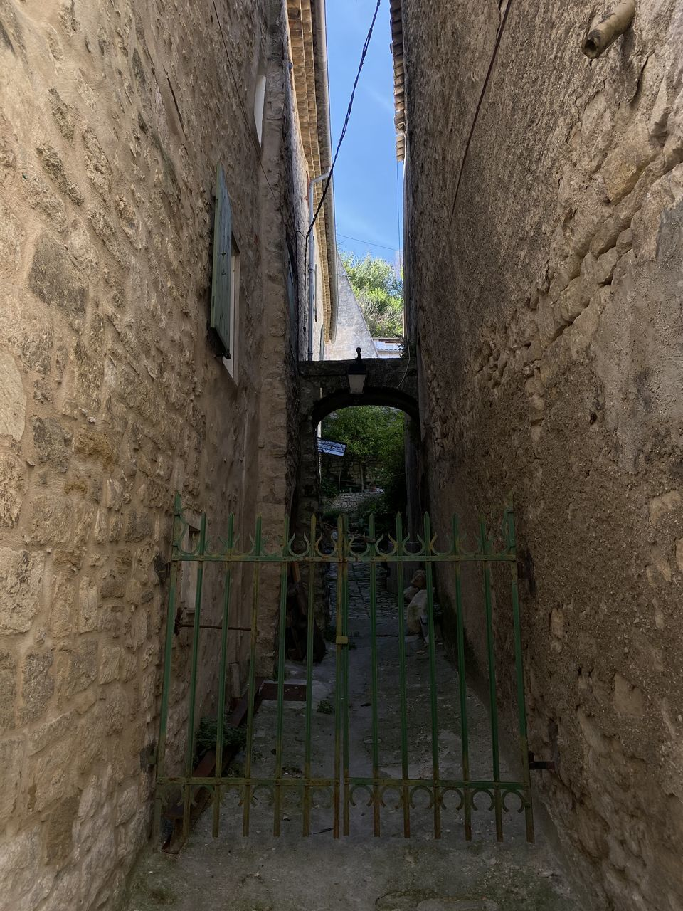 architecture, built structure, no people, building exterior, building, wall - building feature, day, wall, window, outdoors, old, nature, sky, history, solid, entrance, the past, stone material, prison, punishment, stone wall, alley