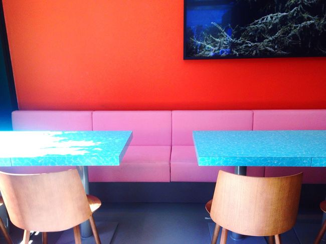 Vibes Color Interior Design Restaurant Pink Turquoise