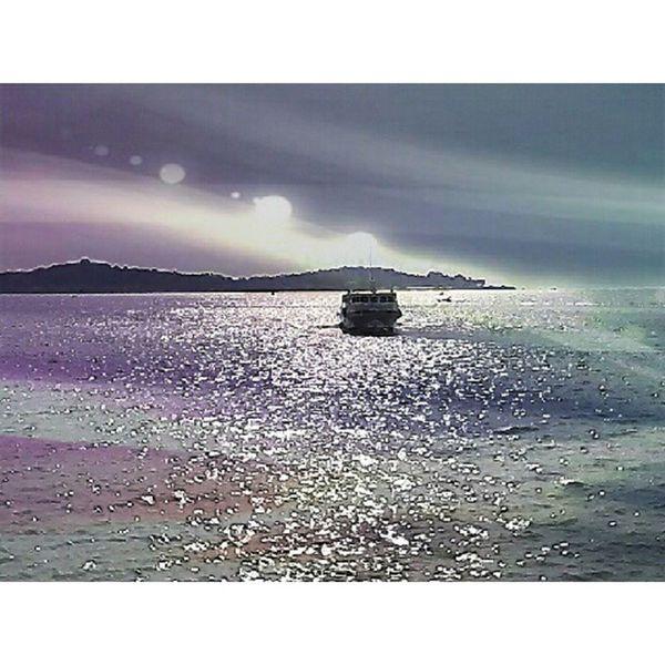 Crossing the sea. The journey from Tanjung Pinang to Batam Tanjungpinang Riauisland INDONESIA