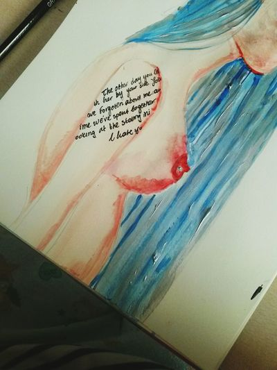 Thus is an acrylic painting small pad i did a month ago. Hope you like it :) Art Painting Acrylics Wip Tattoo NSFW