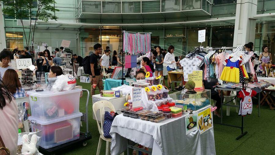 Makers' Market Capitol Piazza Singapore