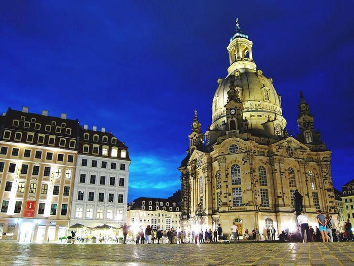 Showcase: February Dresden Germany Frauenkirche Long Exposure Church Christian Christianity Majestic Night Nightphotography EyeEm Gallery