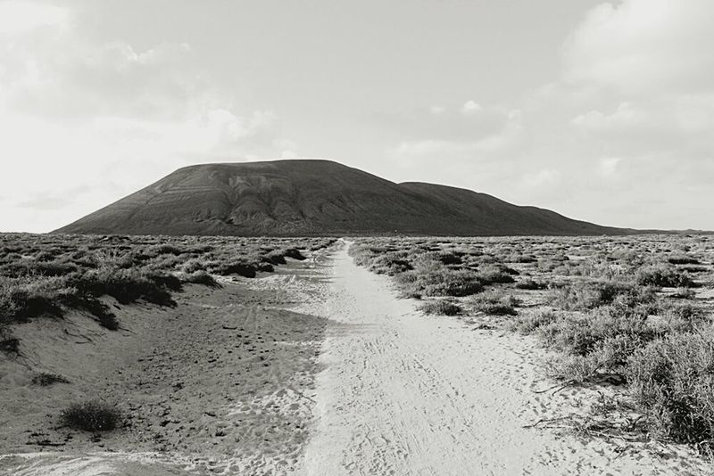 Mountain Nature Non-urban Scene Arid Climate Tranquility La Graciosa Lanzarote Island Canary Islands