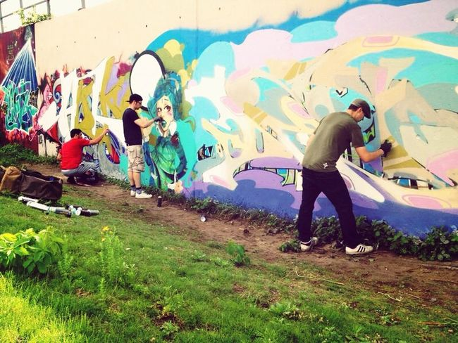 Graffiti Street Photography Dejoe  Stereoheat
