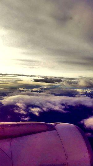 Siempre mantente en vuelo Colombia ♥  Bogotá Flying High Sky Cielo Amanecer