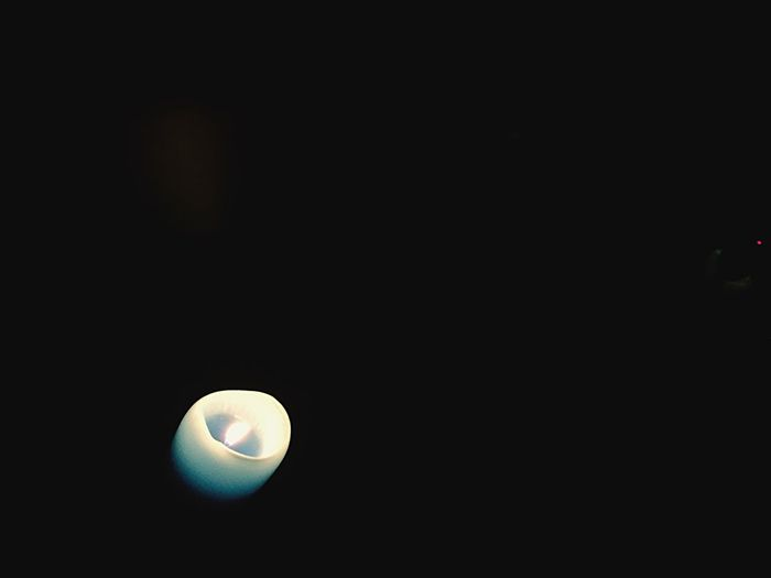 Emk3ico Candle Night Light