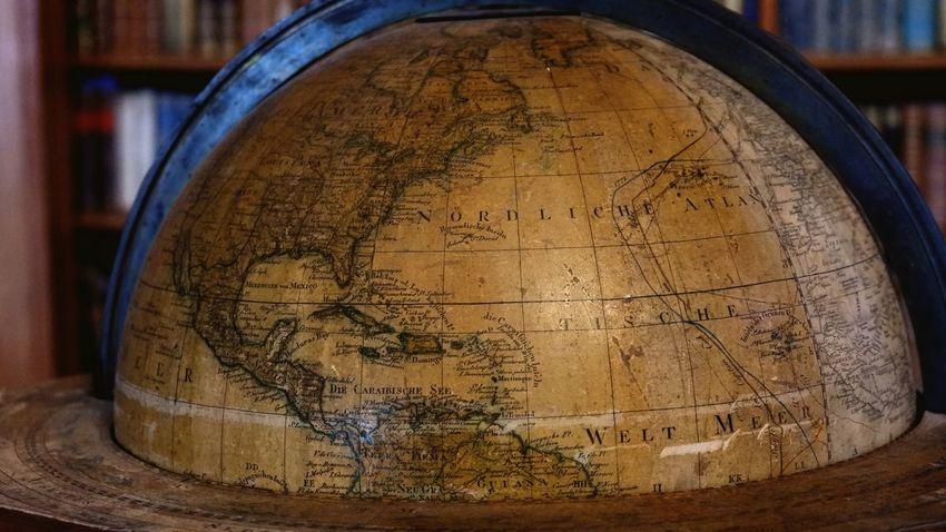 Fujifilm Fujifilm_xseries Fujifilm X-A3 Globe Map World Sea Barrel Close-up Planet Earth Topography Global Globe - Man Made Object Cartography World Map Navigational Compass EyeEmNewHere