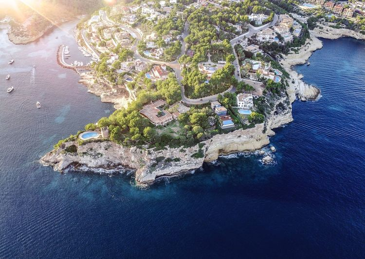 Aerial View Architecture Beauty In Nature Built Structure City Day High Angle View Nature No People Outdoors Scenics Sea Travel Destinations Water Waterfront