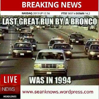 Superbowl Broncos  Throwback SeanKnows meme