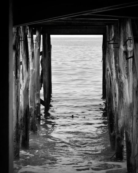 Joint. Beach Architecture No People Outdoors Fine Art Black And White Monochrome Between 2 Worlds Met Random Pic Traveling