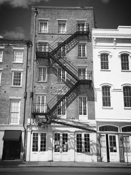 Done That. New Orleans Building Exterior Architecture No People Built Structure Iron Stairs Window Louisiana Big Easy Crescent City City City Life EyeEm Best Shots EyeEmBestPics Check This Out Enjoying Life USA Taking Photos Urbanphotography Streetphotography Blackandwhite Black & White Blackandwhite Photography Black And White Collection