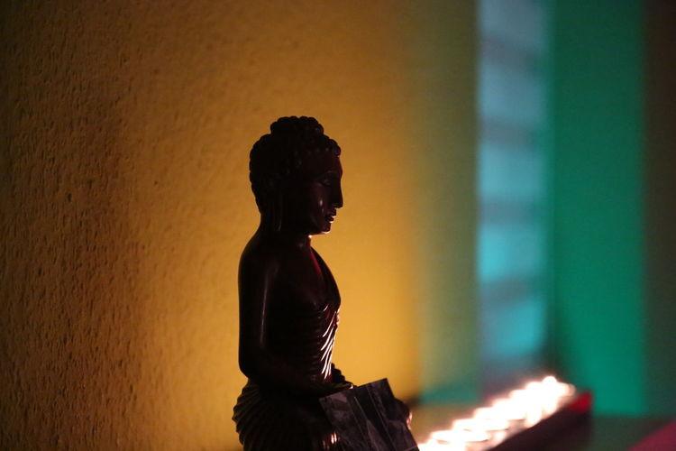 Arts Culture And Entertainment Buddha Buddha Statue Buddhism Candles Good Times Mood Moody Night Praise Pray Sri Lanka