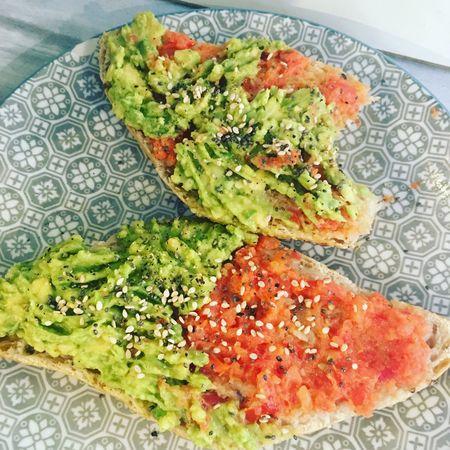 Abocado Toast Avocado Toast🍞 Breakfast Vegan Raw Food