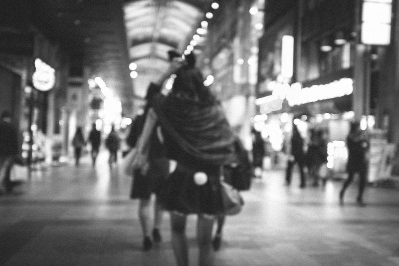 Casual Clothing City City Life City Street Defocused Focus On Foreground Illuminated Leisure Activity Lifestyles Night Selective Focus