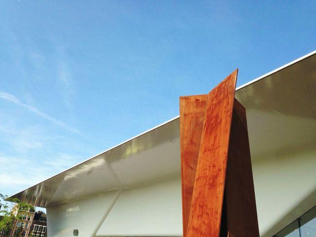 Bathtub Architecture Museum Lines Minimal Sleek Light And Shadow Amsterdam Rust White Sky Modern
