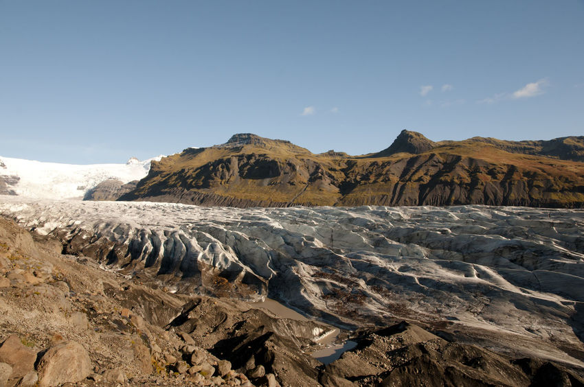 Skaftafellsjokull Glacier Iceland Glacier Mountain Nature Scenics - Nature Skaftafellsjökull