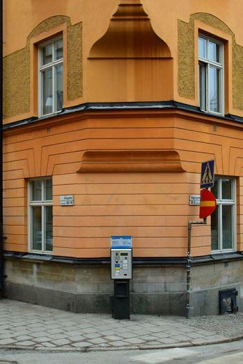 The Street Corner of Åsögatanand Sågargatan Architecture Corner Streetcorner Södermalm